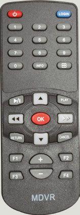 Spare Remote Control for DVR