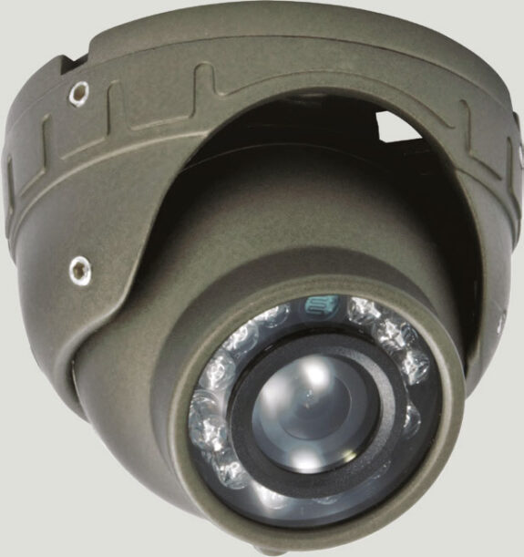 AHD-DOME-600TVL : AHD Dome Camera with Audio