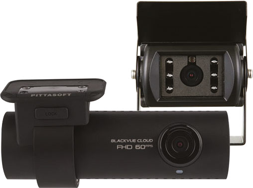 Dash Camera with External Rear Camera