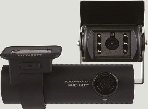 Dash Camera with External Rear Camera