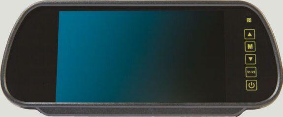 Mirror Monitor with Universal Stalk