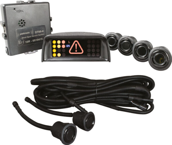 6 Sensor Side Proximity Sensor System with GPS Speed Detection
