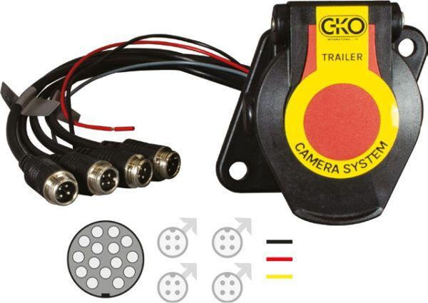Trailer Socket for 4 Cameras