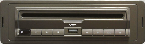 Slim DVD Player with DIN Cage Fitting