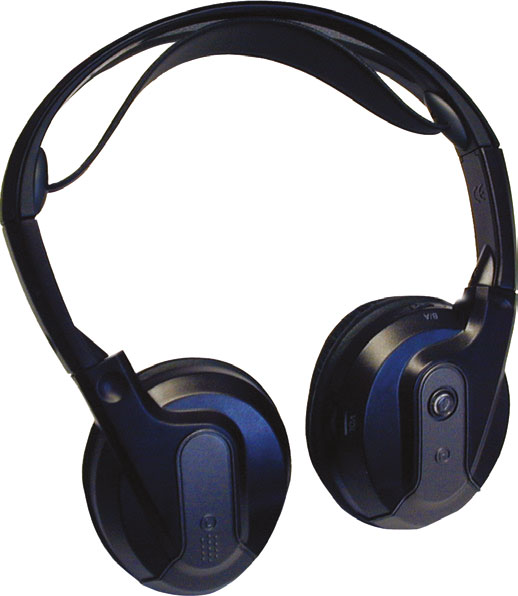 Fold Flat Design Headphones