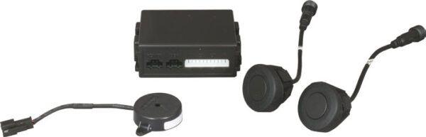 2 Head Rubberised Parking Sensors for Metal Bumpers