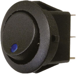 Rocker Switch with Status LED