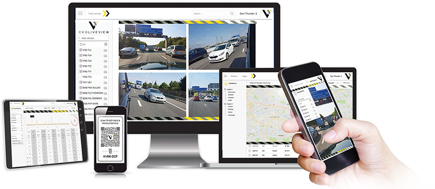 Secure multi-network real-time video-stream and GPS tracking for your single or multiple vehicle fleet