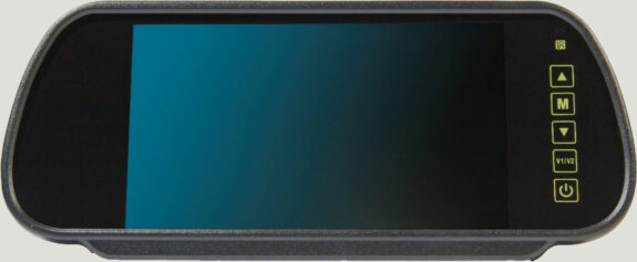 "7"" Mirror Monitor With Universal Stalk"