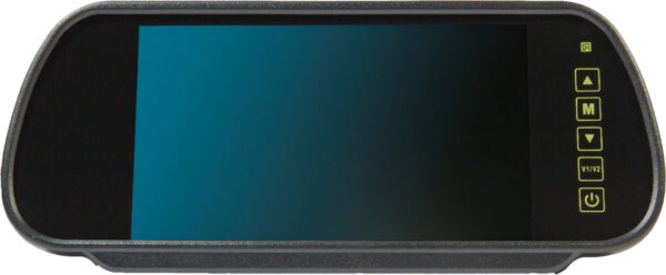 "7"" Mirror Monitor With Universal Stalk"