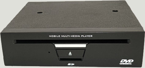 ¾ DIN DVD Player
