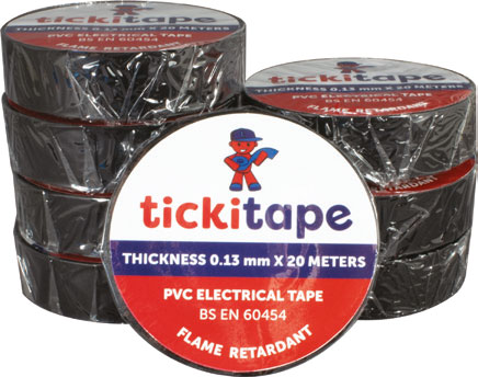 PVC Electrical Tape 8 Pack